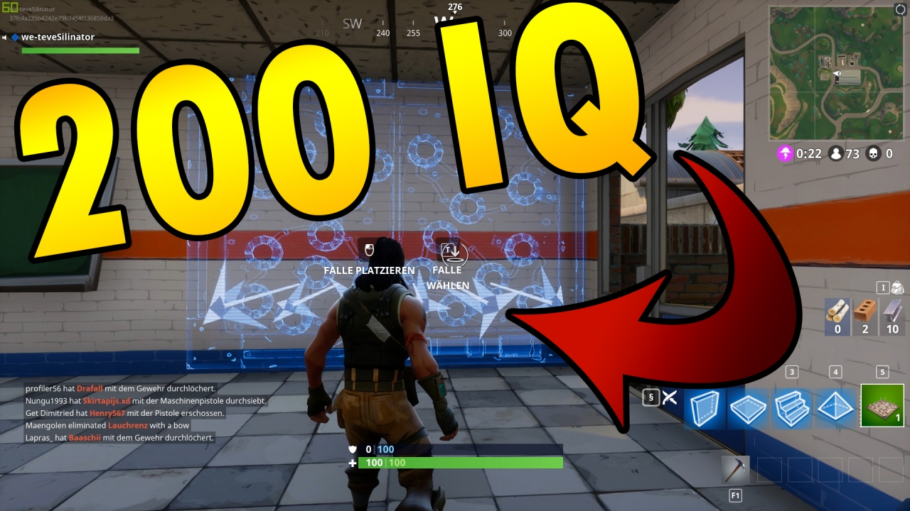 FORTNITE 200 IQ PLAY