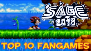 Top 10 Sonic Amateur Games Expo 2018 Fangames