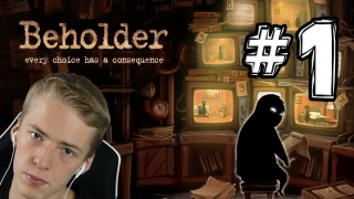 WARUM Thomas? | Lets Play Beholder | #1