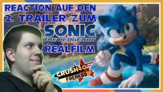 reaktion auf den 2. trailer zum paramount pictures sonic the hedgehog realfilm