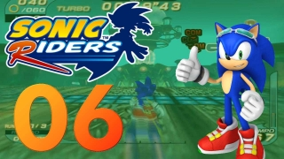 Let's Play Sonic Riders Part 6 - Der Babylon-Cup