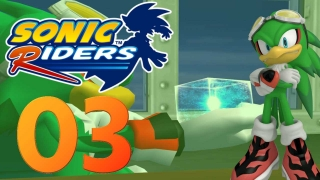 Let's Play Sonic Riders Part 3 - Das Ziel der Babylon Rgues