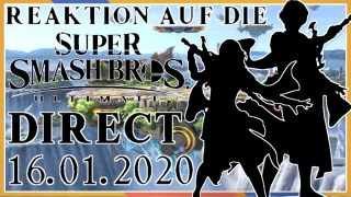 reaktion auf die super smash bros. ultimate direct vom 16.01.2020