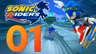Let's Play Sonic Riders Part 1 - Rasante Renn-Action auf Luftbrettern