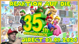reaktion auf die super mario bros. 35th anniversary direct vom 03.09.2020