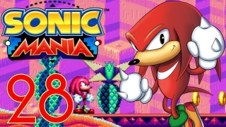 SONIC MANIA (60fps/Blind) #28 Anderer Act b. Mirage Saloon & anderer Boss b. Lava Reef m. Knuckles