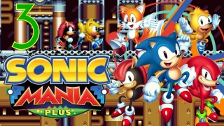 SONIC MANIA PLUS (Blind/60fps) #3 Im Maschinenraum der Flying Battery Zone