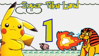 Let's Play Super Pika Land German Part 1 Pikachu anstelle von Mario