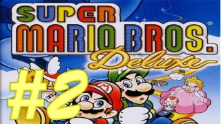 Let's Play Super Mario Bros  Deluxe German Part 2 Verhasste Hammerbrüder