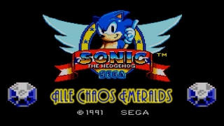 Sonic the Hedgehog [SMS] - Alle Chaos Emeralds