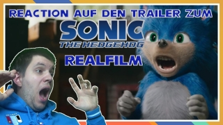 reaktion auf den trailer vom paramount pictures sonic the hedgehog realfilm vom 30.04.2019